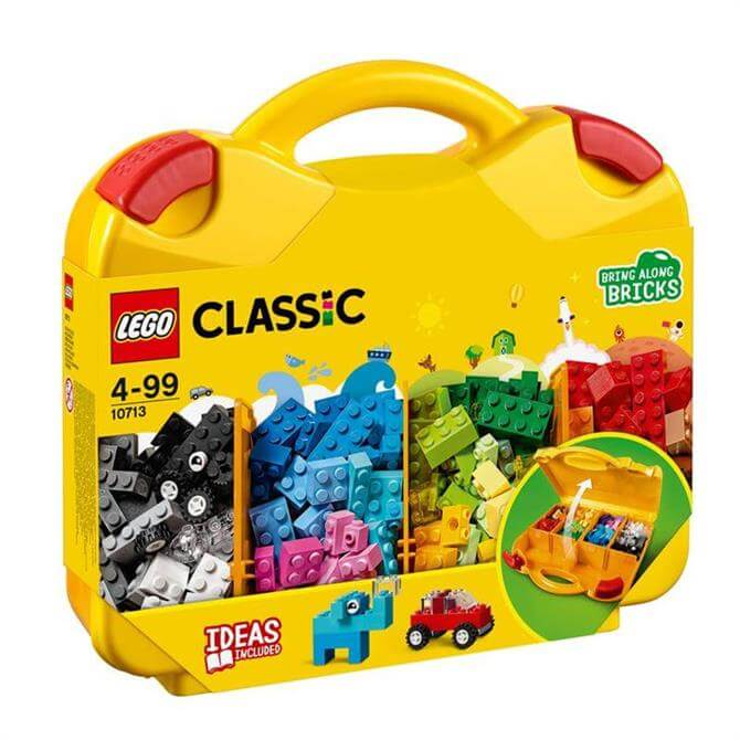 Lego Classic Bricks & More Creative Suitcase 10713